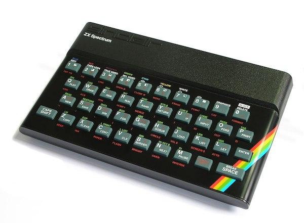 Image of a Sinclair ZX Spectrum for shop item