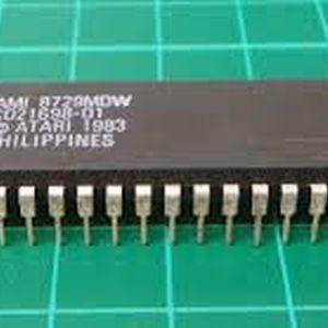 Atari C021698 PAL ANTIC Chip