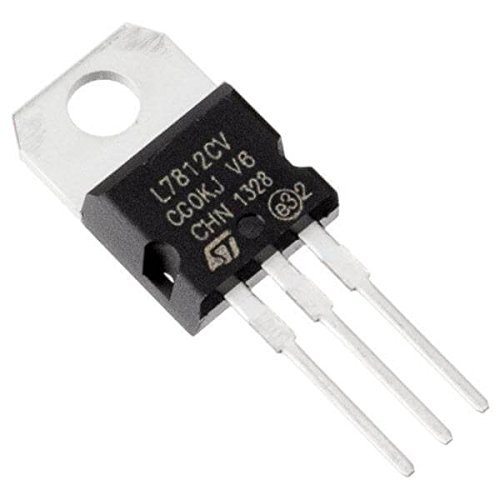 7812 12 volt voltage regulator