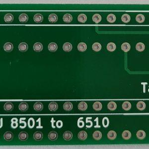 MOS8501 to MOS6510 Converter Commodore 16