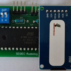 Rudedog Retros new SD2IEC card reader