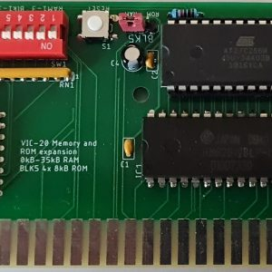 Rude Dog Retros-VIC20-Ram-Board