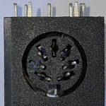 Atari XL/XE Motherboard Power Socket