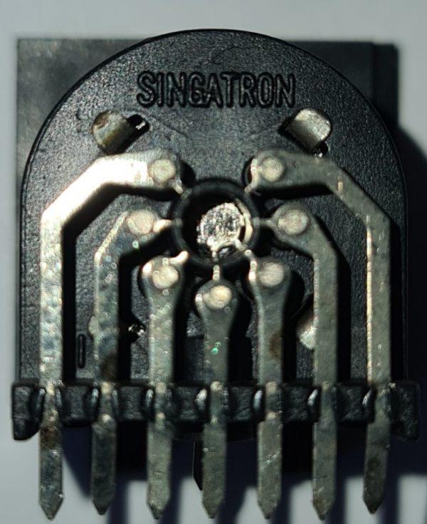 Atari260ST PCB Power Socket