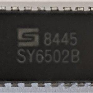 Synertek 6502-B CPU