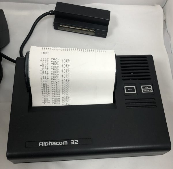 Refurbed Alphacom Printer-IMG_2116